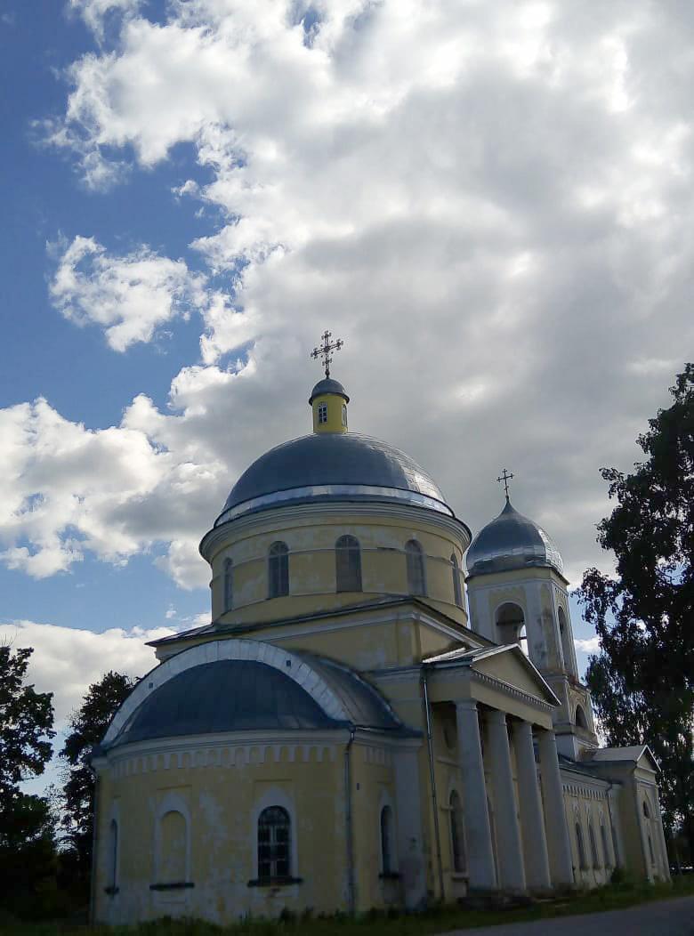 Деревня Черное. Церковь Вознесения Господня.