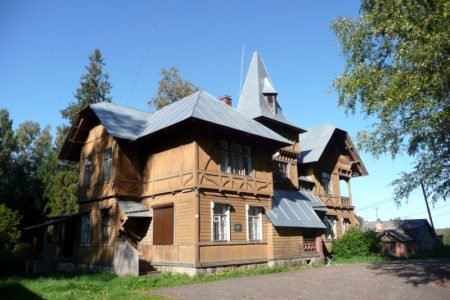 Дом усадьбы И.Л. Горемыкина