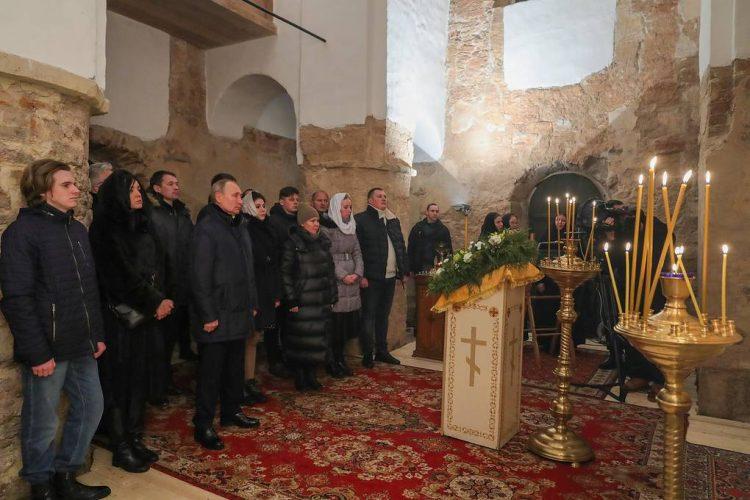 Церковь Николы на Липне , президент Путин